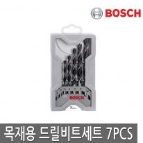 [보쉬] 목재용드릴비트세트 7pcs 3/4/5/6/7/8/10mm