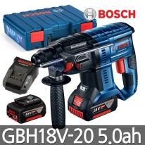 보쉬 충전함마드릴 GBH18V-20 5.0ah 배터리2개 SDS타입