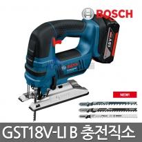 보쉬 충전직소 GST18V-LI B 4.0AH 배터리2개 목재철재직쏘
