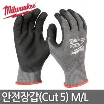 밀워키 안전장갑(Cut5) M/L 48-22-8951,48-22-8952