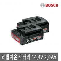 보쉬 배터리 14.4V 2.0Ah 리튬이온 배터리