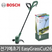 보쉬 전기예초기 EasyGrassCut26 280W 반자동 날포함
