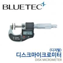 블루텍 디스크 마이크로미터(디지털) BD323-025 0-2mm