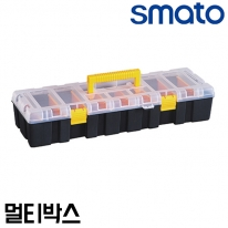 스마토 멀티박스 SM-MBL1 7칸수납 칸막이분리 부품함 정리함 공구함