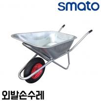 스마토 외발손수레 WB-1 에어바퀴 리어카 농작업운반구 허용하중160kg