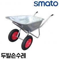 스마토 두발손수레 WB-2 에어바퀴 리어카 농작업운반구 허용하중200kg