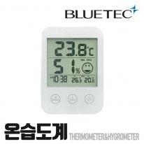 블루텍 온습도계 BD-718 탁상 벽걸이용 온도계 습도계