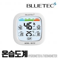 블루텍 온습도계 BD-737 탁상용 온도계 습도계