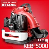 계양 엔진송풍기 KEB-5000 미쯔비시엔진 브로와 2싸이클 낙엽청소 제설작업