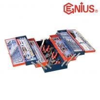 지니어스 공구세트 MS-190TS (190PCS) 비트세트,렌치세트 펜치,해머,플라이어포함