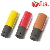 지니어스 자동차휠용 임팩소켓 1/2SQ(12.7) 17mm~19mm 대만제 내구성우수