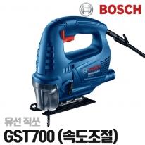 보쉬 유선직소기 GST700 속도조절 손쉬운날교환 절단능력설정 직쏘