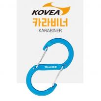 코베아 포징S 카라비너 TAC-03 캠핑고리 트랑고