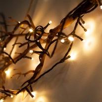 LED 100구 은하수 트리 전구,크리스마스트리 전구