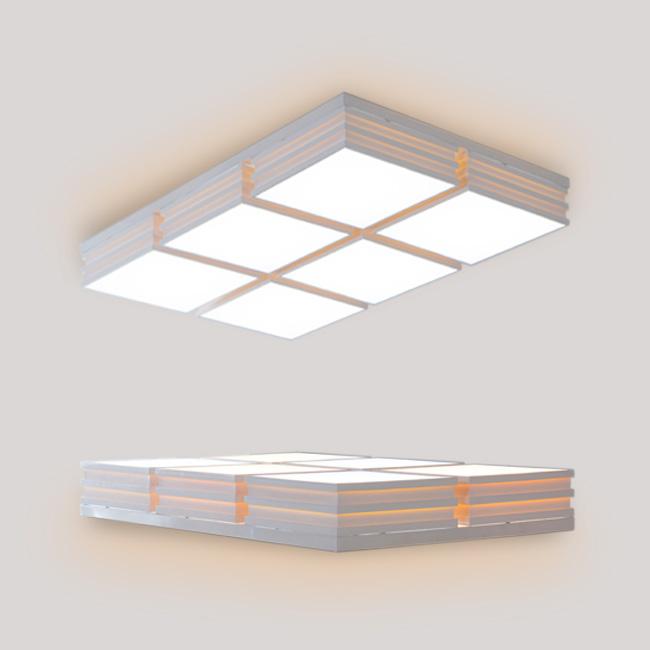 리벤 LED 거실등 150W 원바디 (A타입)