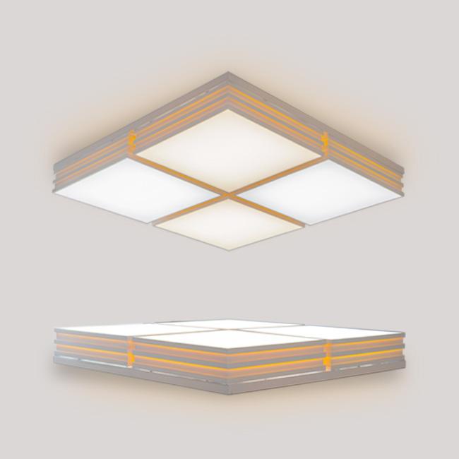 리벤 LED 거실등 200W (정사각)