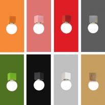 레고블럭1 펜던트/펜던트 레일형(E26/8color)