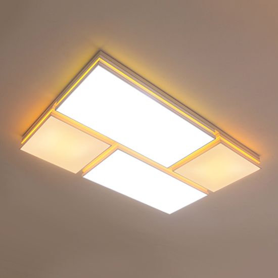 LED원투라인 6등 거실등(150W)