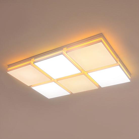 LED원라인 6등 거실등(150W)