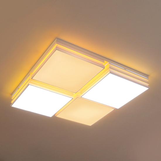 LED원라인 4등 거실등(100W)