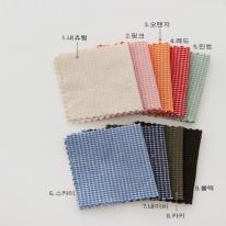 아즈미노]미니퀼트체크[9color]63638