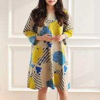 패턴 77-081 P991 - Dress(여성 원피스)