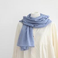 완제품]컬러풀내츄럴머플러(블루)97514