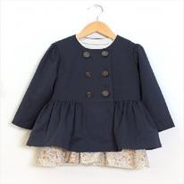 패턴]69-668 P474-Coat (아동 코트)