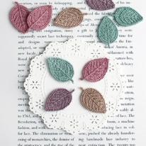 모티브]컬러나뭇잎(2개-1set) 4color 98160