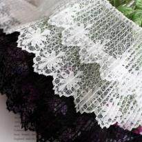 라셀주름레이스]꽃그물 - 3color 98014