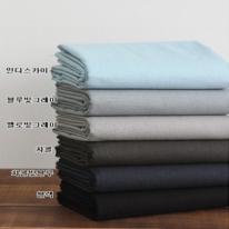 대폭워싱린넨]빈티지무지(블루블랙계열6종)88669