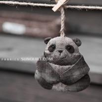 DIY패키지]팬더곰키홀더(카키) 29156