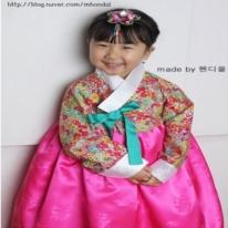 패턴]P234 - Hanbok(여아 한복)