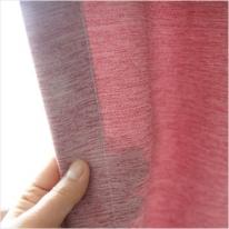 선염멜란지 이중 커튼무지-핑크11832