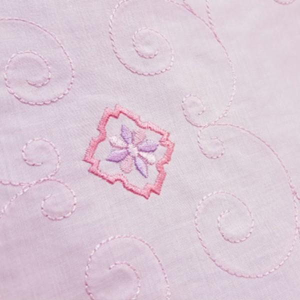 부드러운 면자수 핑크 14898