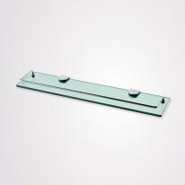[로얄앤컴퍼니]욕실 일자선반(강화유리) RA366(설치비미포함)