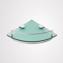 [로얄앤컴퍼니]욕실 코너선반(강화유리) RA362-A(설치비미포함)