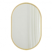 TM001 골드라인 타원형 벽걸이 거울 820X520
