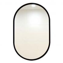 TM002 블랙라인 타원형 벽걸이 거울 820X520