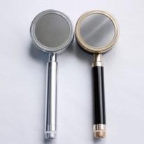 SUS-TH013 알루미늄 수압상승 샤워헤드 블랙,실버 2종