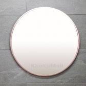 원형거울 골드거울 로즈골드거울 600*600 알루미늄거울 벽걸이 거울 인테리어 거울 국내 제작