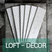[퍼스타일] LOFT-DECOR 65x260 직사각형 인테리어 타일