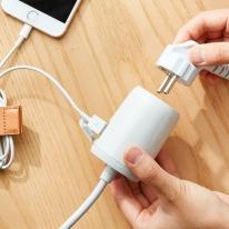 에이블루 프리어블탭 USB충전 휴대용 멀티탭