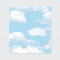 [룸스토어] 풀바른합지벽지 45087-1 구름포인트벽지