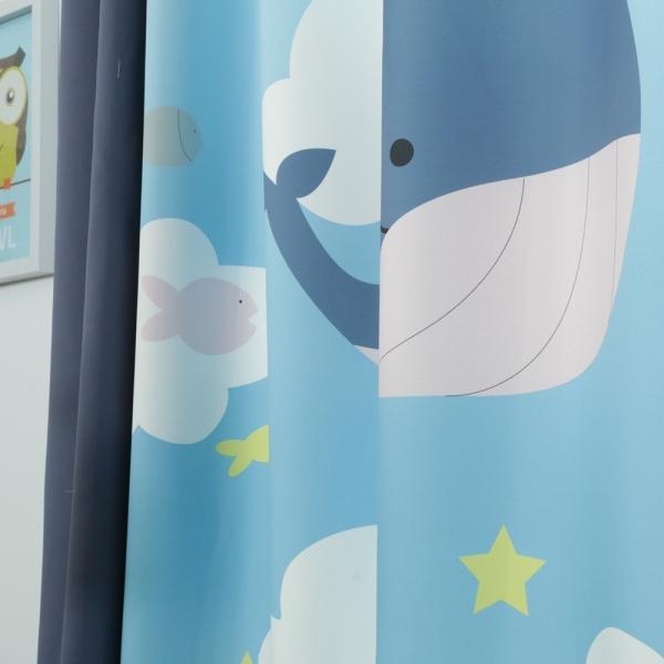 고래의 꿈 키즈 암막커튼