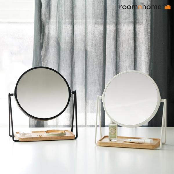 [룸앤홈]렌코수납탁상거울