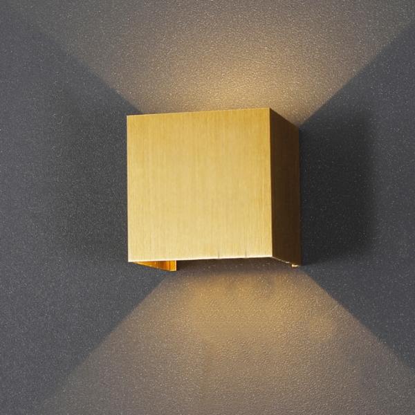 모던 LED 사각 벽등 (4color)