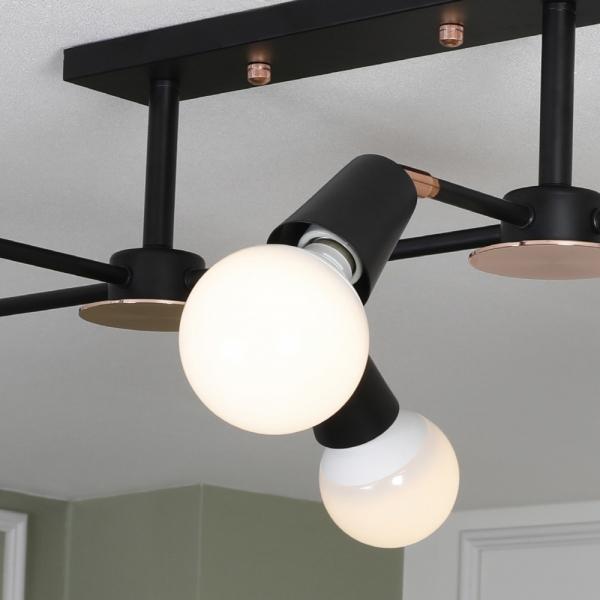 안테나 6등 직부 LED 방등 인테리어조명