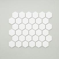 육각 모자이크 타일 (HB-01 화이트) 1BOX 10장
