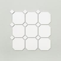 팔각 모자이크 타일 (GO-01 화이트) 1BOX 11장